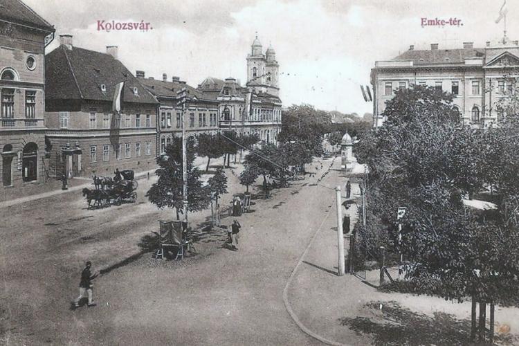 Clujul liniștit de până în 1918. Orașul era sub stăpânire maghiară  - FOTO