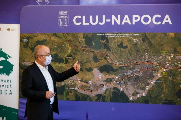 Mobilitatea următorului deceniu la Cluj: Metroul ar putea ajunge pe B-Dul Muncii și în Sopor