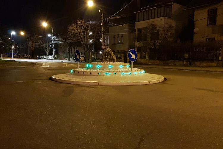 Se pot mândri clujenii cu OZN -ul de la intersecția din Grigorescu? - FOTO
