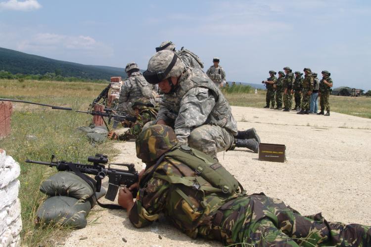 Armata face iarăși trageri în Florești. În ce zile au loc trageri la poligon