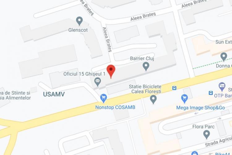 Oficiul Postal 15, Cluj-Napoca 15 - Ghişeu 1