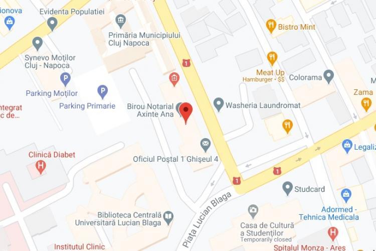 Oficiul Poștal 1 - Ghişeu 4 Cluj-Napoca - Adresa, contact