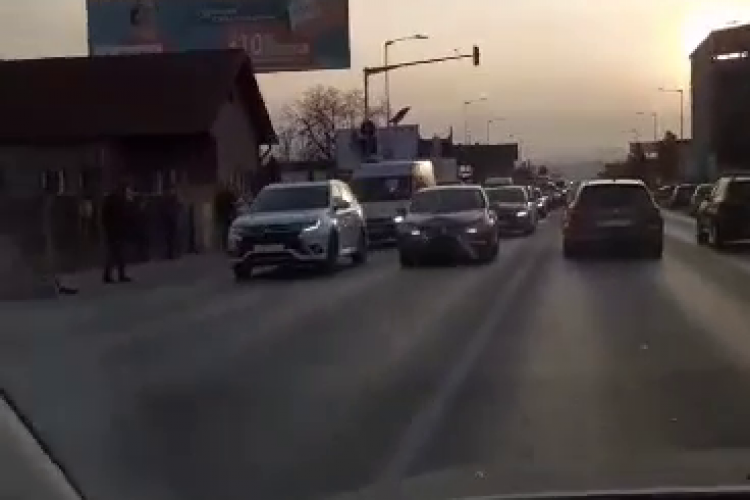 Florești: Accident rutier grav pe strada Avram Iancu - VIDEO cu impact emoțional