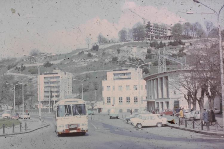 Cum s-a construit Hotelul Belvedere din Cluj-Napoca. Trebuia să aibă telecabină și ascensor - FOTO