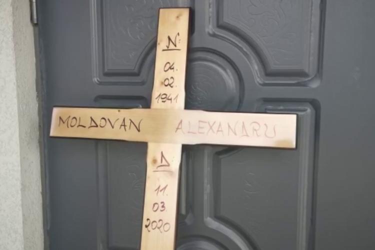 Nea Sandu, bunicul din clipurile lui Micea Bravo, condus pe ultimul drum - VIDEO