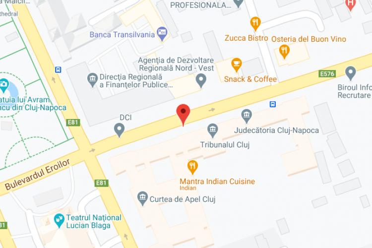 Oficiul Poștal 1 - Cluj-Napoca 1 - Ghişeu 1