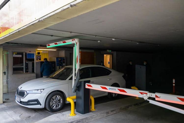 Sistem nou de acces în parkingul Moților. Adio cozi