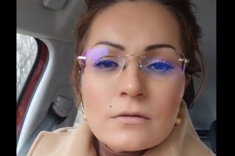 Sexy politiciana de la AUR, Ancuța Cîrcu, a fost arestată la Turda! Acum spune că este victimă - VIDEO