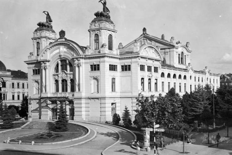 """Teatrul Național """"Lucian Blaga"""" Cluj-Napoca, o adevărată emblemă a orașului - FOTO"""