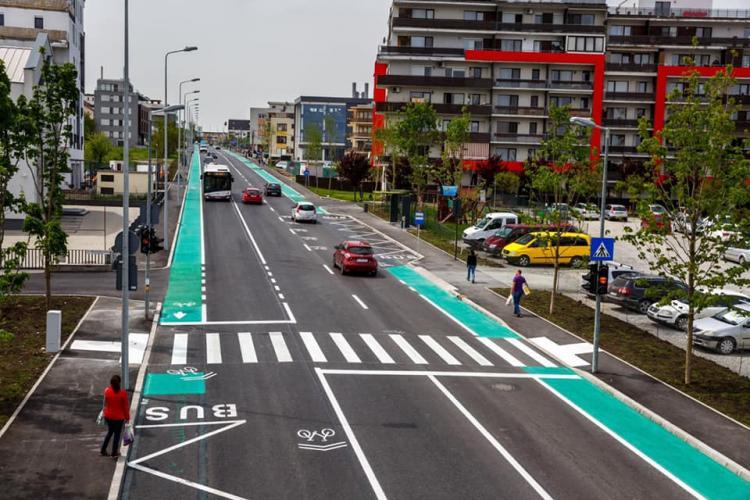 Strada Fagului va fi lărgită pe modelul străzii Bună Ziua, cu aspect european