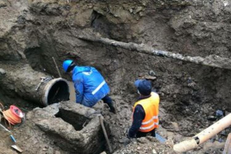 Avarie la rețeaua de apă din Vlaha. Alimentarea se reia sâmbătă