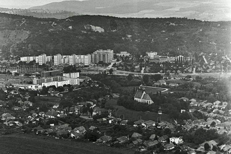 Fotografii aeriene din Cluj-Napoca, anii 1960 - 1970.  - GALERIE FOTO