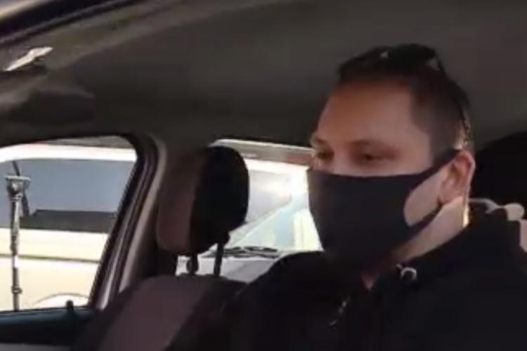Cluj: Cine este taximetristul escortat de polițiștii de la rutieră din Cluj-Napoca. Pacienta era în prag de infarct