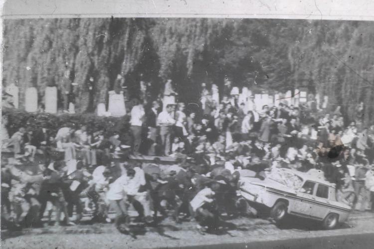 Povestea accidentului de la Raliul Feleacului, 7 octombrie 1973. Doi oameni au murit loviți de pilotul Mircea Vizireanu - FOTO