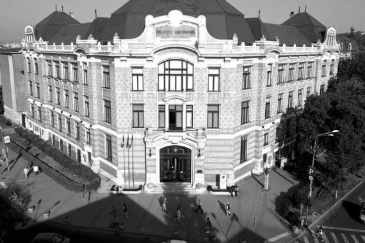 """Biblioteca Centrală Universitară """"Lucian Blaga"""" din Cluj în 1910 - FOTO"""