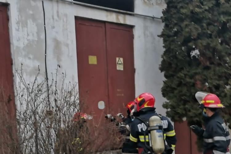 Incendiu la Spitalul Municipal Dej. Instalația electrică nu mai face față - VIDEO