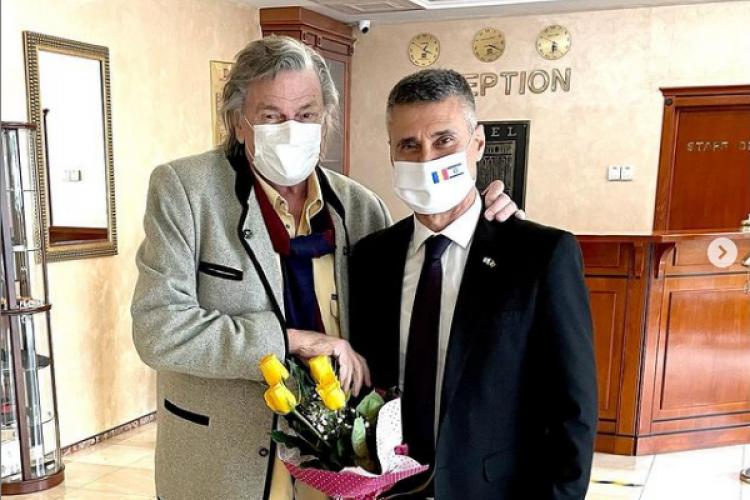 Florin Piersic a primit o scrisoare din partea președintelui din Israel, după un an de la trimitere