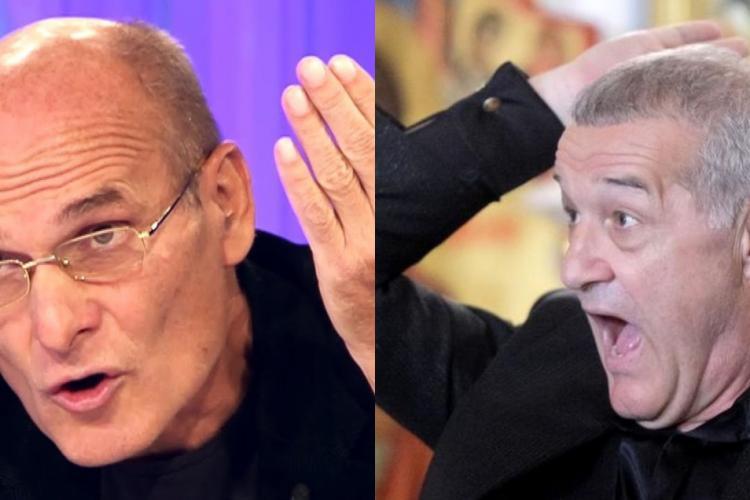"""Cristian Tudor Popescu, amenințat cu moartea de Gigi Becali: """"A vrut să-mi dea cu o scrumieră în cap"""
