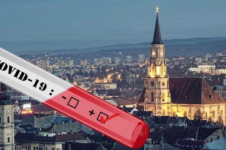 Situație COVID la Cluj: 90 de pacienți la ATI, numărul cazurilor crește