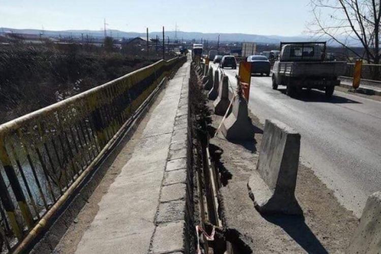 Se închide circulația rutieră pe DN1, pentru lucrări la pod. Care sunt rutele ocolitoare