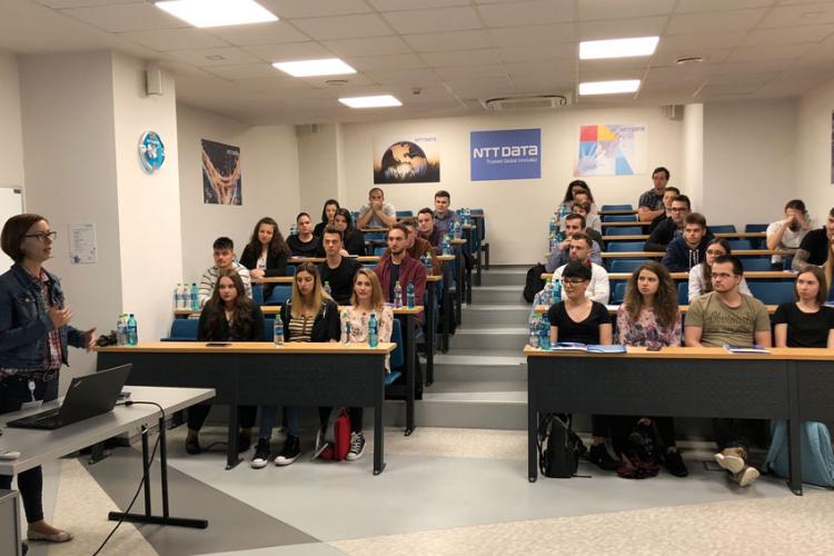 """NTT DATA Romania continuă parteneriatul strategic cu mediul universitar și în cadrul proiectului """"PEX - Practicăm EXcelența"""""""