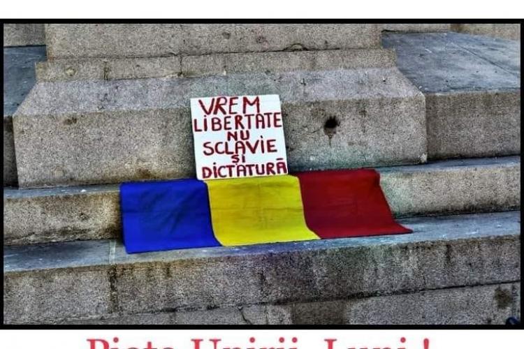 Conturi false de Facebook instigă la PROTESTE de STRADĂ în CLUJ - FOTO