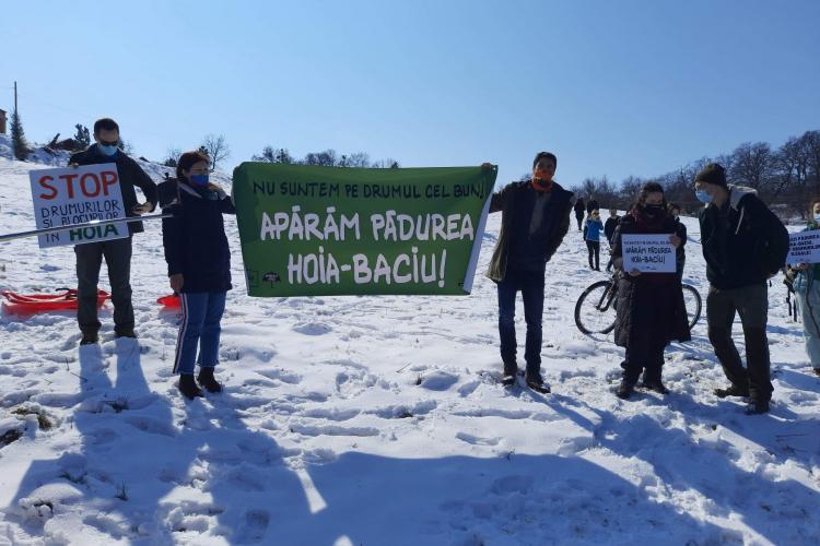 Dohotaru, amendat cu 15.000 de lei pentru protestul din Pădurea Hoia