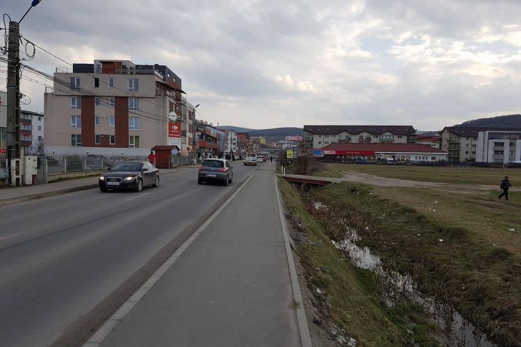 Strada Eroilor din Florești ar trebui amenajată cu încă o bandă. Proiectul ar putea fi modificat