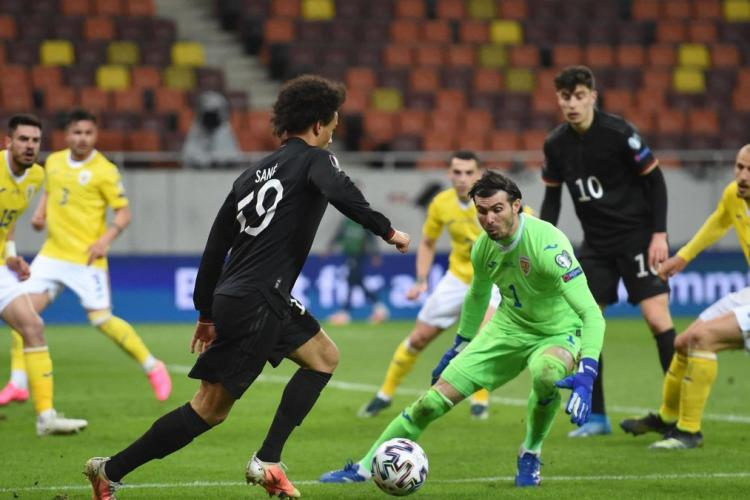 România, învinsă de Germania la Bucureşti în preliminariile Qatar 2022