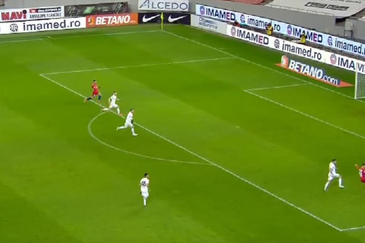 FCSB a UMILIT CFR Cluj. Scor 3-0