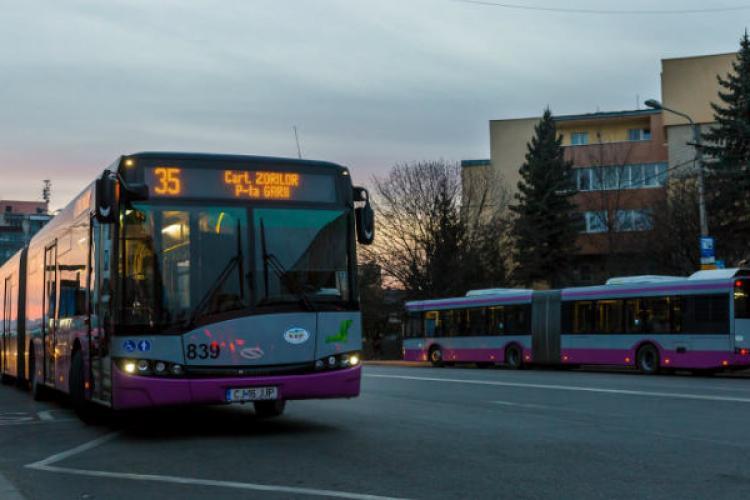 Transportul public, restricționat în Cluj-Napoca după ora 20?