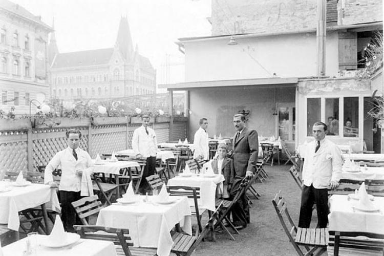 Veniți cu noi într-o plimbare prin cofetăriile și restaurantele Clujului de altădată - FOTO