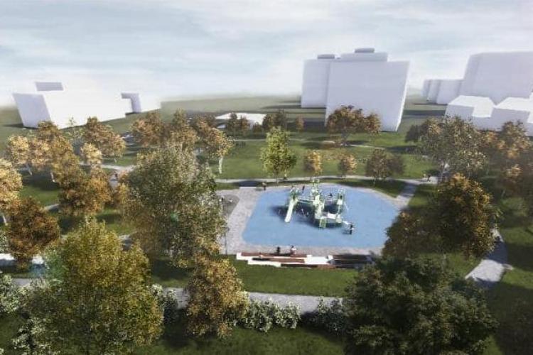 Cum arată Parcul Zorilor / Observator - VIDEO