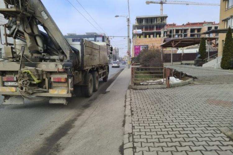 """Cum a ratat Clujul realizarea Bulevardului Teodor Mihali, din cauza clădirii de """"neam prost"""" cu balcoane pe trotuar - FOTO"""