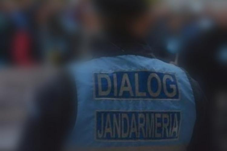 Numai 12 amenzi au fost aplicate la protestele de marți, de la Cluj