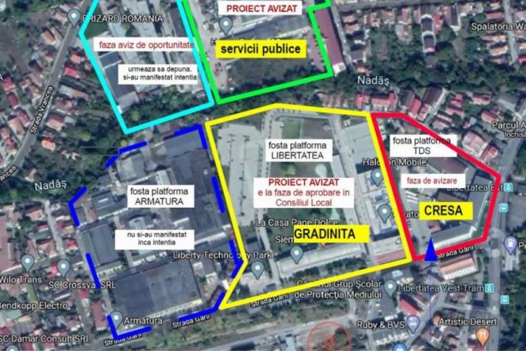 Mini-cartiere noi de locuințe pe scheletul vechilor fabrici comuniste ale Clujului: Fabrica de Cărămidă, Libertatea, Mucart și lângă Dedeman