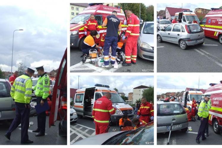 Accident MORTAL. Un șofer clujean a ucis o biciclistă - FOTO