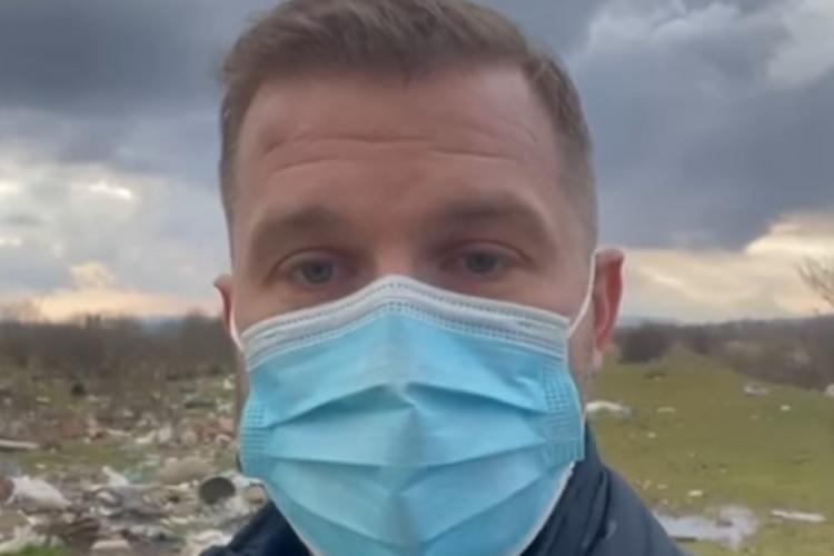 Bogdan Pivariu, primarul Floreștiului: Declar război celor care aruncă deșeuri ilegal. Vom cumpăra drone  - VIDEO