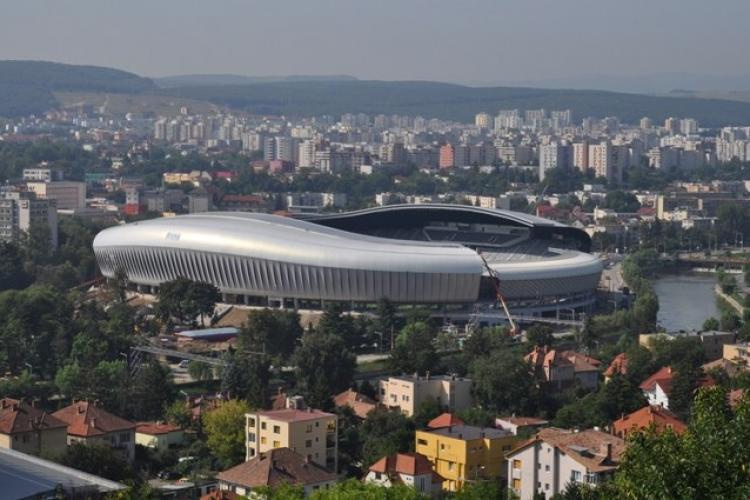 Stadionul Cluj Arena, pregătit pentru găzduirea Campionatului European de Atletism pe echipe