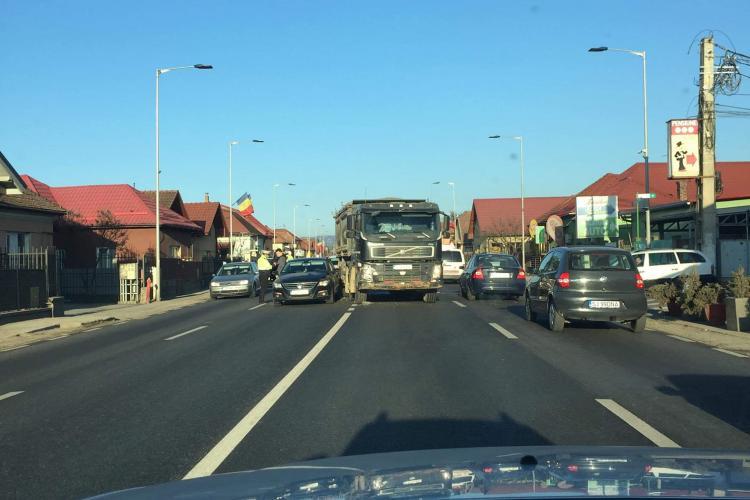 Accident în Florești, lângă Il Milanese. Traficul este afectat - FOTO