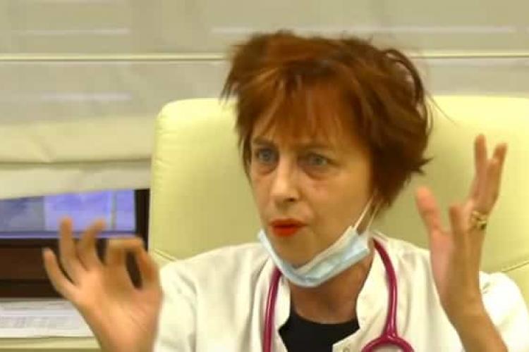 Medic din Cluj către Flavia Groșan: Dacă pacienții se agravează, îi trimite la noi