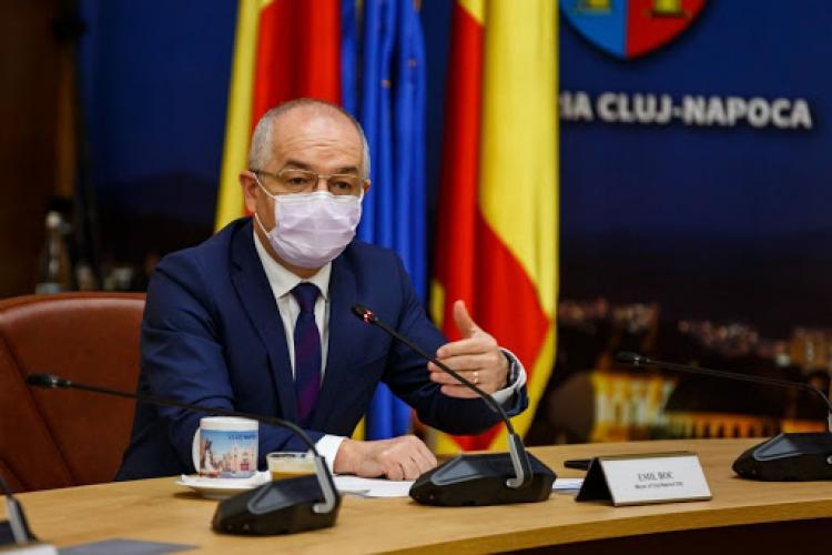 """Boc, declară război celor care nu respectă regulile COVID: Clujul nu intră în carantină, dar afirmația nu este valabilă """"pentru totdeauna"""""""