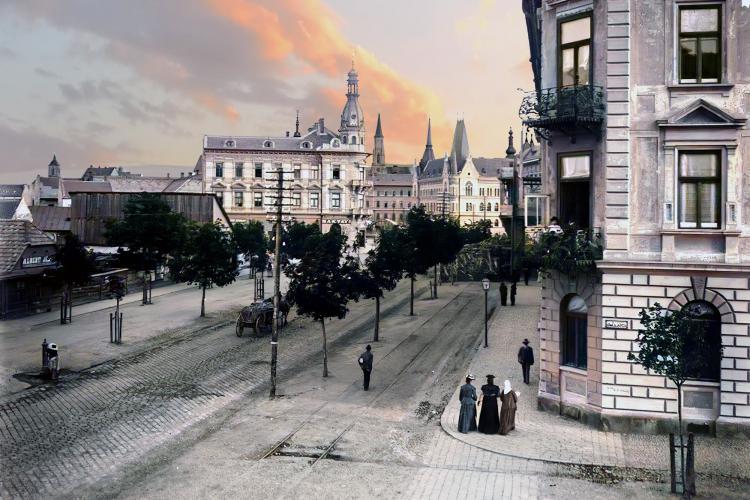 Imagine superbă din Cluj, dinainte de construirea palatului Urania! - FOTO