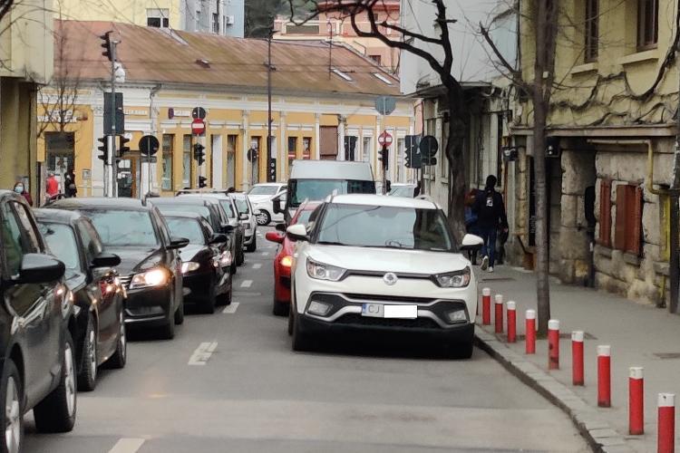 Cluj-Napoca: Parcare pentru a-și face poftele - FOTO