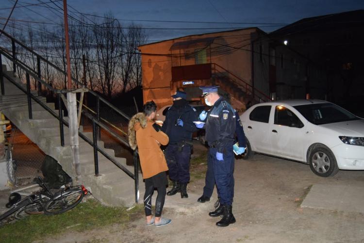 Razii în Cluj-Napoca pentru verificarea respectării restricțiilor COVID-19
