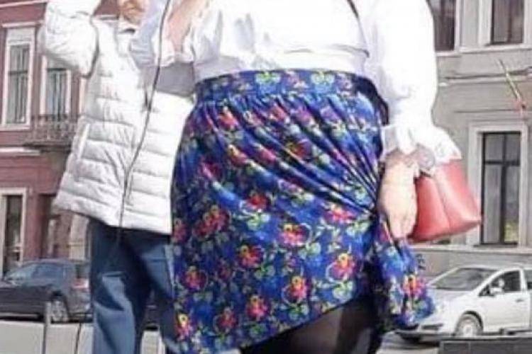 Clujenii fac glume pe seama Dianei Șoșoacă. Funar: Taci femeie. Nu te mai șoșoci atâta...