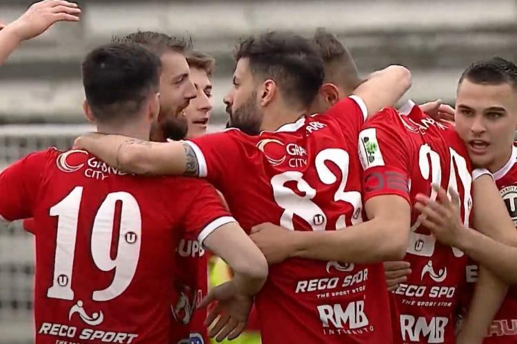 U Cluj nu bate nici pe Pandurii, echipă deja retrogradată