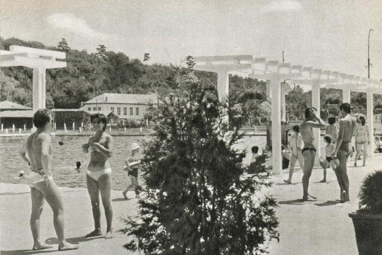 Băile Sărate la Turda datează din 1834. În 1960, era mica mare din Turda - FOTO