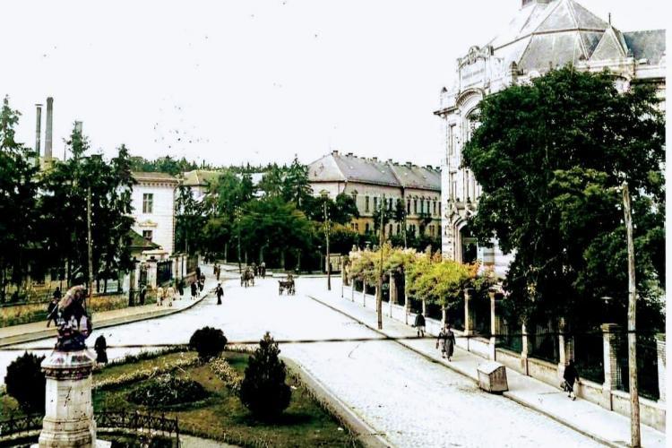 Fotografie rară cu Piața Lucian Blaga! Zona arăta ca în Paris. Acum e modernă - FOTO