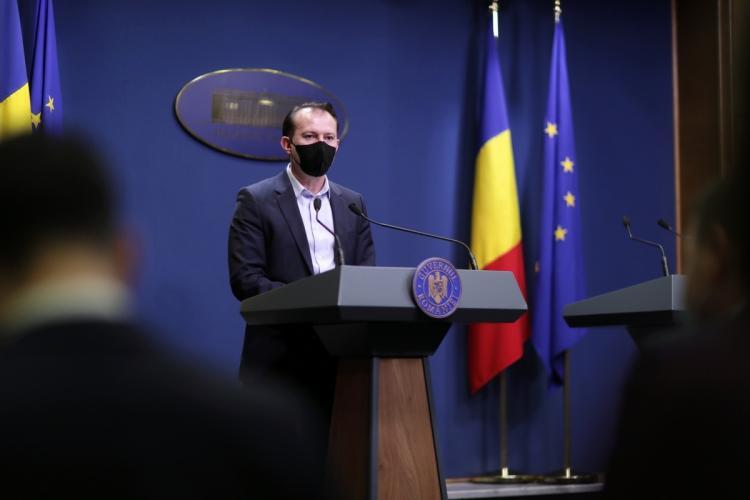 Premierul Florin Cîțu vine la Cluj-Napoca, în plin scandal cu USR PLUS